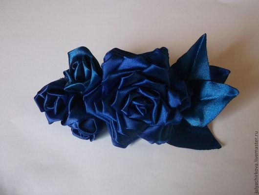 Заколки ручной работы. Ярмарка Мастеров - ручная работа. Купить Розы необычного цвета. Handmade. Украшения ручной работы, для девушек
