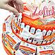 Кулинарные сувениры ручной работы. Торт из соков и киндеров  в школу садик для девочки мальчика. Ника Окунева 'ZEFIRKI'. Ярмарка Мастеров.