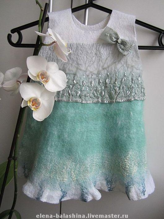 """Одежда для девочек, ручной работы. Ярмарка Мастеров - ручная работа. Купить Платье детское """"Мятный леденец"""". Handmade. Платье для девочки"""