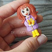 Украшения handmade. Livemaster - original item Brooch doll