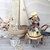 """Куклы и пупсы ручной работы. Ярмарка Мастеров - ручная работа Кукла коллекционная текстильная интерьерная  """"Ёшкина Кошка"""". Handmade."""
