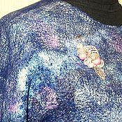 Одежда ручной работы. Ярмарка Мастеров - ручная работа Блуза валяная Галактика. Handmade.