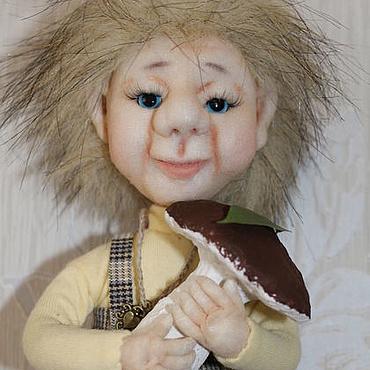 Куклы и игрушки ручной работы. Ярмарка Мастеров - ручная работа Домовой ТОША на ложке. Handmade.