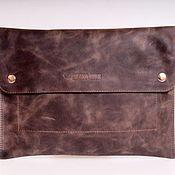Сумки и аксессуары handmade. Livemaster - original item Clutch male genuine leather. Handmade.