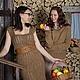 Вязаное платье ручной работы из верблюжьей шерсти `Сонал` от Sviteroff