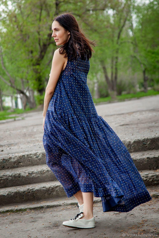 6632eec1ee7 Платья ручной работы. Ярмарка Мастеров - ручная работа. Купить Платье из  батиста  в ...