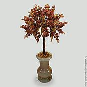 Цветы и флористика handmade. Livemaster - original item Tree of life aventurine bowl onyx. Handmade.