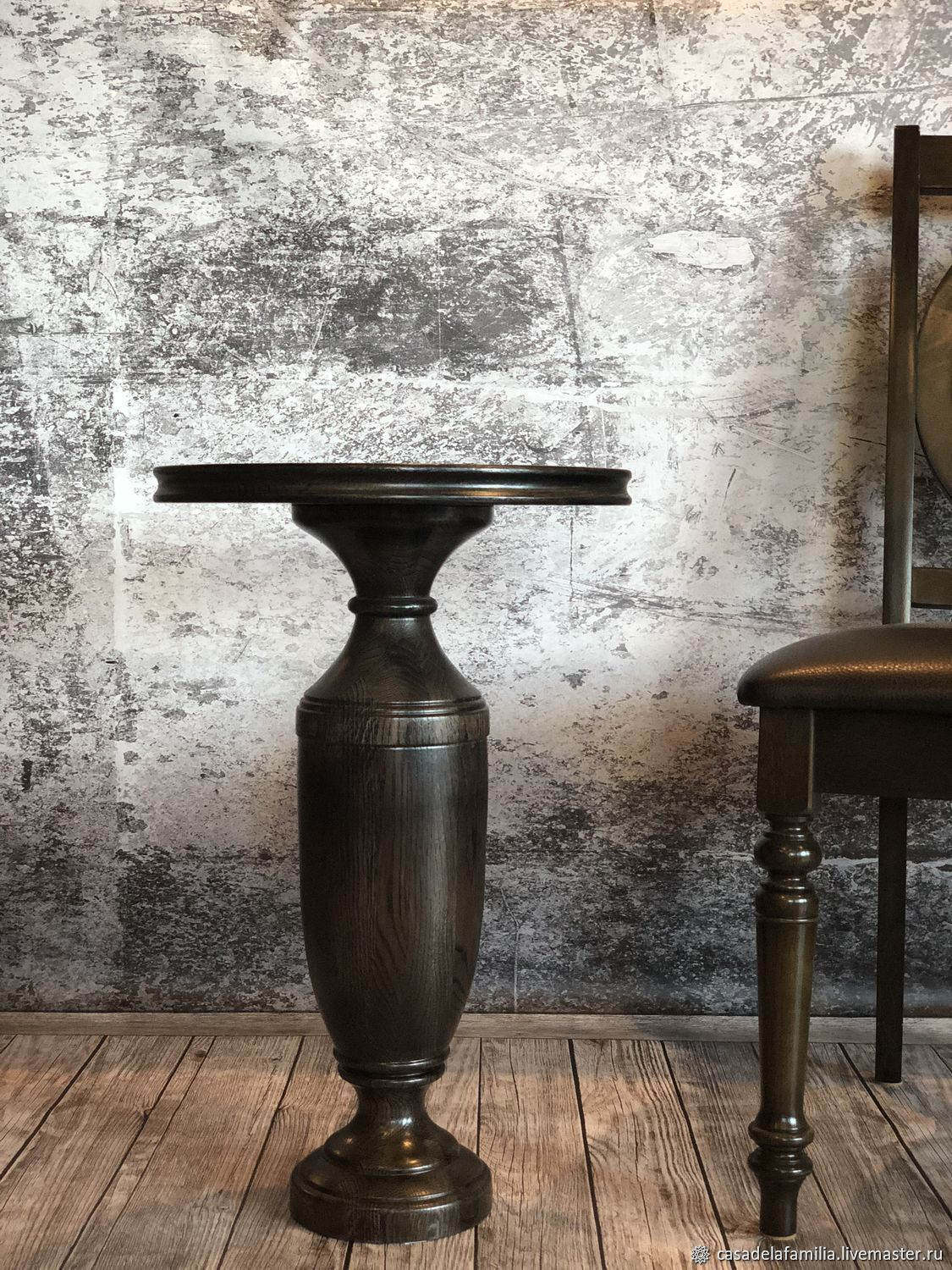 Round oak coffee table, Tables, Moscow,  Фото №1