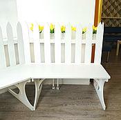 Для дома и интерьера ручной работы. Ярмарка Мастеров - ручная работа Скамья. Handmade.