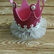 Работы для детей, ручной работы. Ярмарка Мастеров - ручная работа Корона для маленькой принцессы. Handmade.