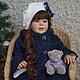 Куклы-младенцы и reborn ручной работы. Машенька. Наталья Кудрявцева (bikova). Ярмарка Мастеров. Винил