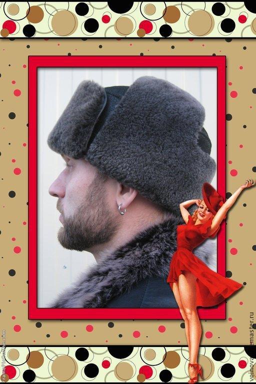 Шапка ушанка с дублёночного меха, Шапки, Красноярск, Фото №1
