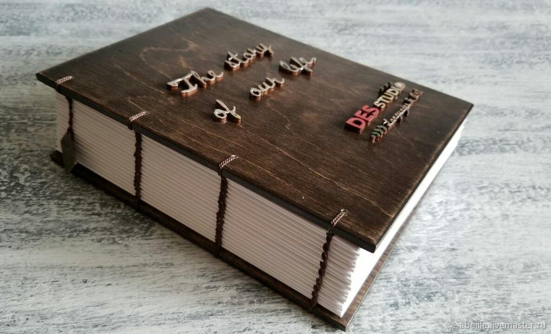 Книга пожеланий, отзывов и предложений с Вашим дизайном ( логотипом), Блокноты, Москва,  Фото №1