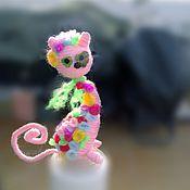 Куклы и игрушки ручной работы. Ярмарка Мастеров - ручная работа кошка Сладкая. Handmade.