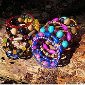 Украшения handmade. Livemaster - original item Bracelet of beads. Bracelet-slinky. Handmade.