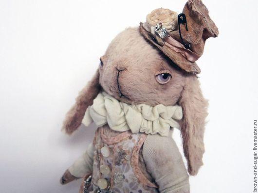 Мишки Тедди ручной работы. Ярмарка Мастеров - ручная работа. Купить Элли. Handmade. Бежевый, тедди, металические подвески