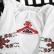 Русский стиль ручной работы. Ярмарка Мастеров - ручная работа Вышитая сорочка. Handmade.