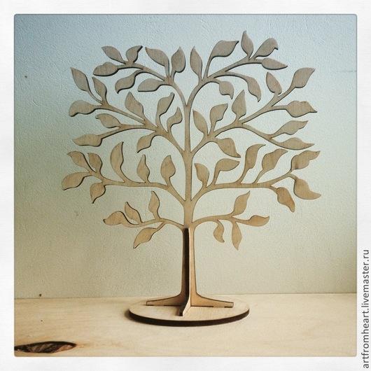 Статуэтки ручной работы. Ярмарка Мастеров - ручная работа. Купить Дерево для украшений 2.. Handmade. Бежевый, фанера, украшение интерьера