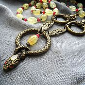Украшения handmade. Livemaster - original item Necklace with pendant