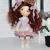 Куклы и пупсы ручной работы. Ярмарка Мастеров - ручная работа Куклы: Текстильная кукла. Handmade.