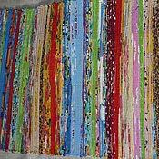 Русский стиль ручной работы. Ярмарка Мастеров - ручная работа Половик (дорожка) домотканый. Handmade.