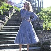 """Одежда ручной работы. Ярмарка Мастеров - ручная работа платье """"Сиреневый туман"""". Handmade."""