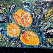 Картины и панно handmade. Livemaster - original item Paradise flowers.Oil.. Handmade.