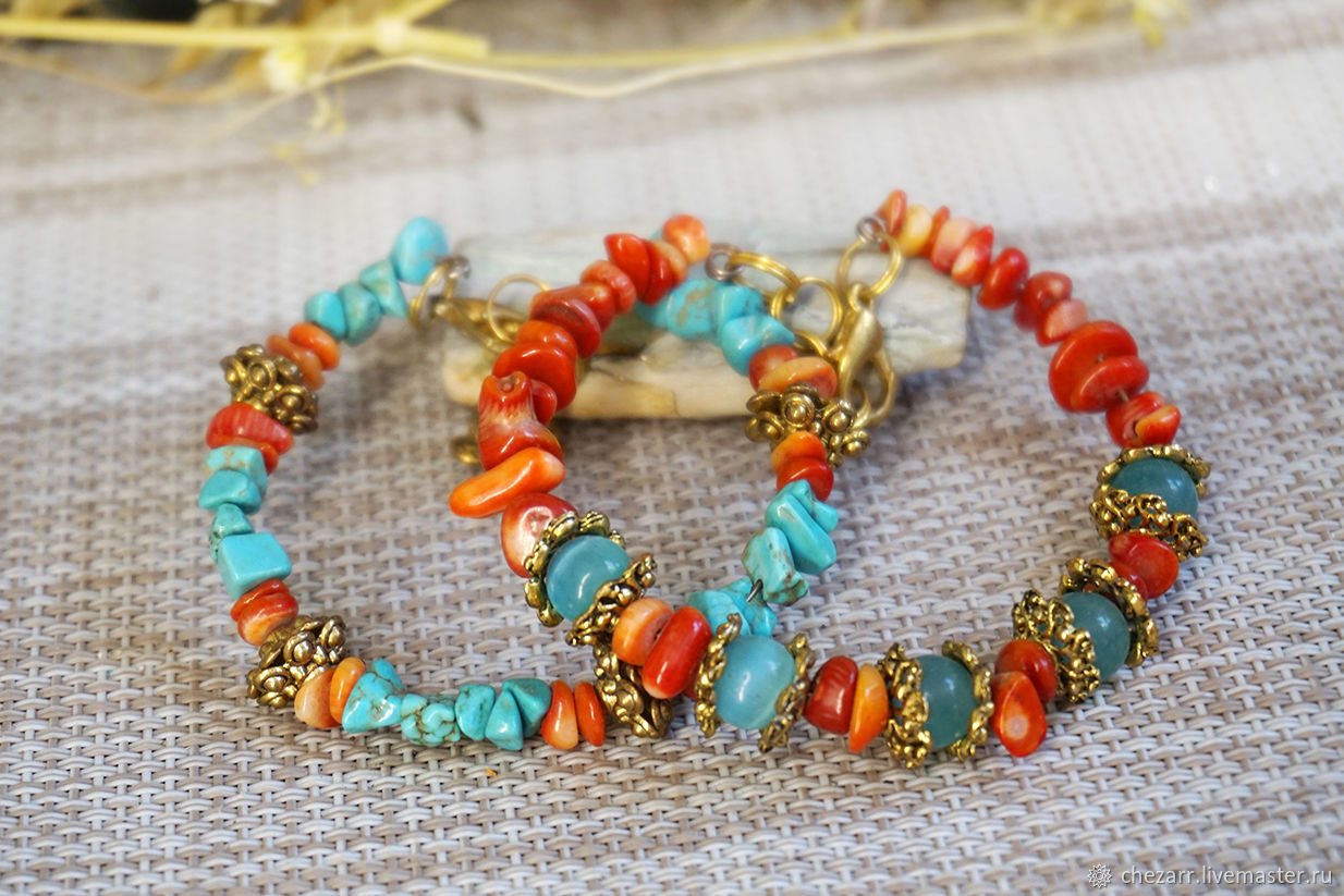 A copy of the product A delicate bracelet made of bright stones, Bead bracelet, Chelyabinsk,  Фото №1
