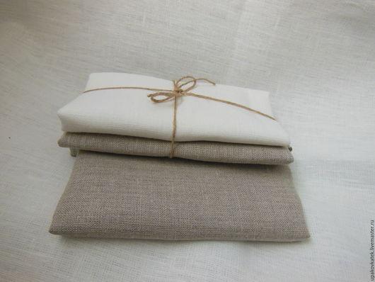 Шитье ручной работы. Ярмарка Мастеров - ручная работа. Купить Набор ткани  льяной. Handmade. Комбинированный, лен