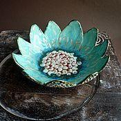 """Посуда ручной работы. Ярмарка Мастеров - ручная работа """"Лотос"""", чаша, керамика ручной работы.. Handmade."""