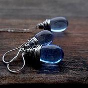 Украшения handmade. Livemaster - original item Earrings made of Czech glass