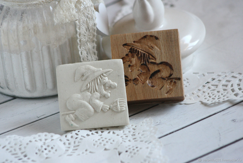 Kitchen handmade. Livemaster - handmade. Buy Gingerbread witch shape Halloween gift.Halloween, gingerbread form, printing gingerbread