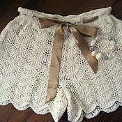 Одежда handmade. Livemaster - original item SHORTS fishnet. Handmade.