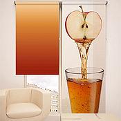 Дизайн и реклама ручной работы. Ярмарка Мастеров - ручная работа Рулонная штора на створку окна с принтом. Handmade.