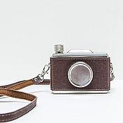 Сувениры и подарки handmade. Livemaster - original item The camera flask. Handmade.