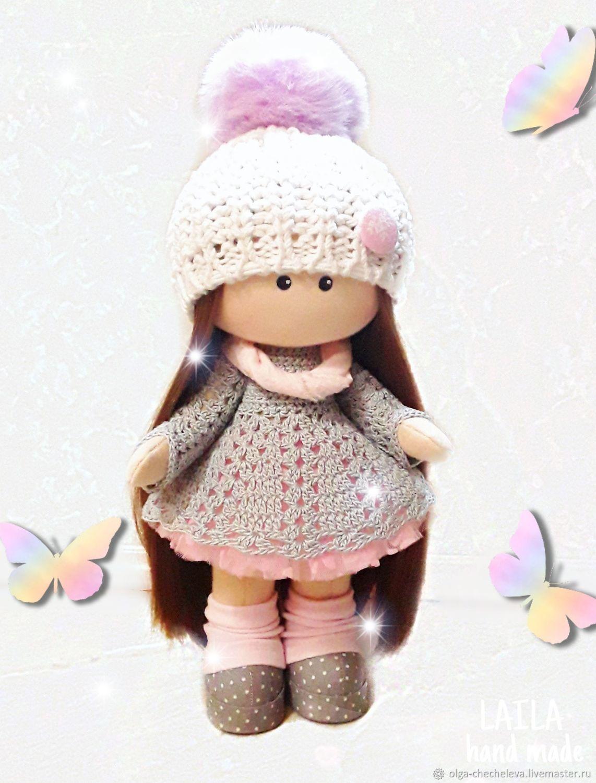 Кукла текстильная тыквоголовка, Куклы Тильда, Апатиты,  Фото №1