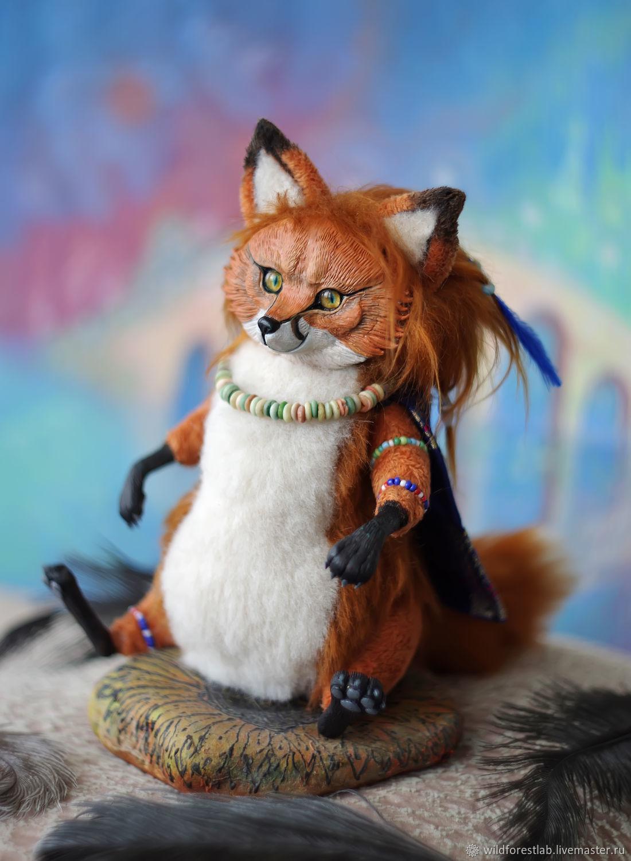 Soft toys: Sly little Fox, Stuffed Toys, Tver,  Фото №1