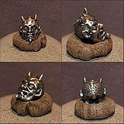 Украшения handmade. Livemaster - original item Hellboy lanyard bead. Handmade.