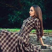 Одежда ручной работы. Ярмарка Мастеров - ручная работа Длинное платье в пол  Вечность. Handmade.