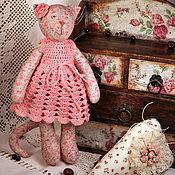 Куклы и игрушки ручной работы. Ярмарка Мастеров - ручная работа Тильда Цветочная кошка. Handmade.