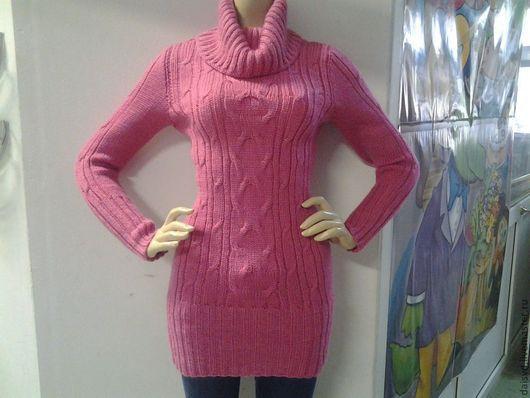 Кофты и свитера ручной работы. Ярмарка Мастеров - ручная работа. Купить Свитер женский, ярко-розовый. Handmade. Розовый