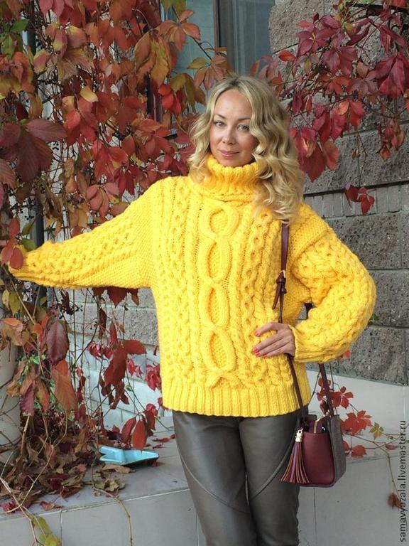 Купить толстый свитер женский