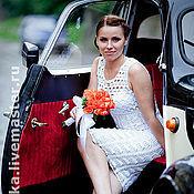 Свадебный салон handmade. Livemaster - original item Crochet summer dress