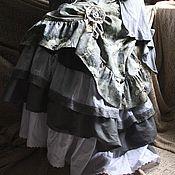"""Одежда ручной работы. Ярмарка Мастеров - ручная работа Летняя юбка """"После дождя"""". Handmade."""