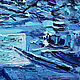 Oil painting moonlight Sonata. Pictures. Dubinina Ksenya. My Livemaster. Фото №5