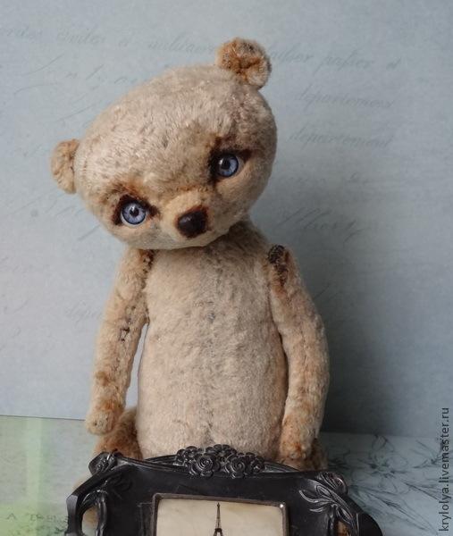 Мишки Тедди ручной работы. Ярмарка Мастеров - ручная работа. Купить Авторский мишка. Лалаби,18 см.. Handmade. мишка