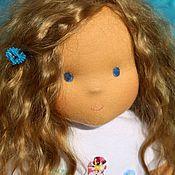 Куклы и игрушки ручной работы. Ярмарка Мастеров - ручная работа вальдорфская кукла  Александра 43см. Handmade.