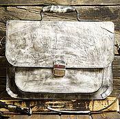 Портфель ручной работы. Ярмарка Мастеров - ручная работа Портфель из сыромятной кожи. Handmade.
