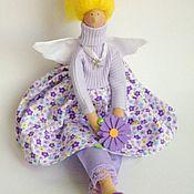 """Куклы и игрушки ручной работы. Ярмарка Мастеров - ручная работа Кукла тильда. Ангел домашнего уюта """"Сирень"""". Handmade."""