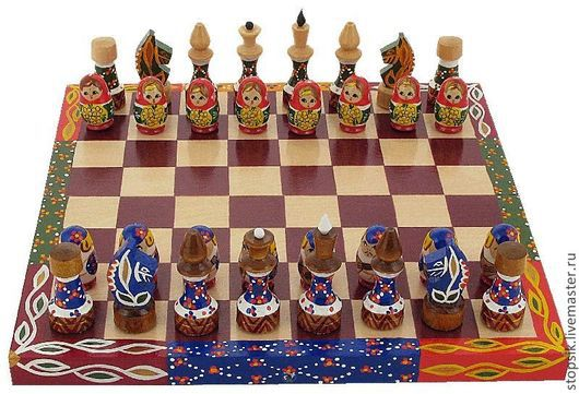 Настольные игры ручной работы. Ярмарка Мастеров - ручная работа. Купить Шахматы Мальчики и девочки (6047). Handmade. Шахматы